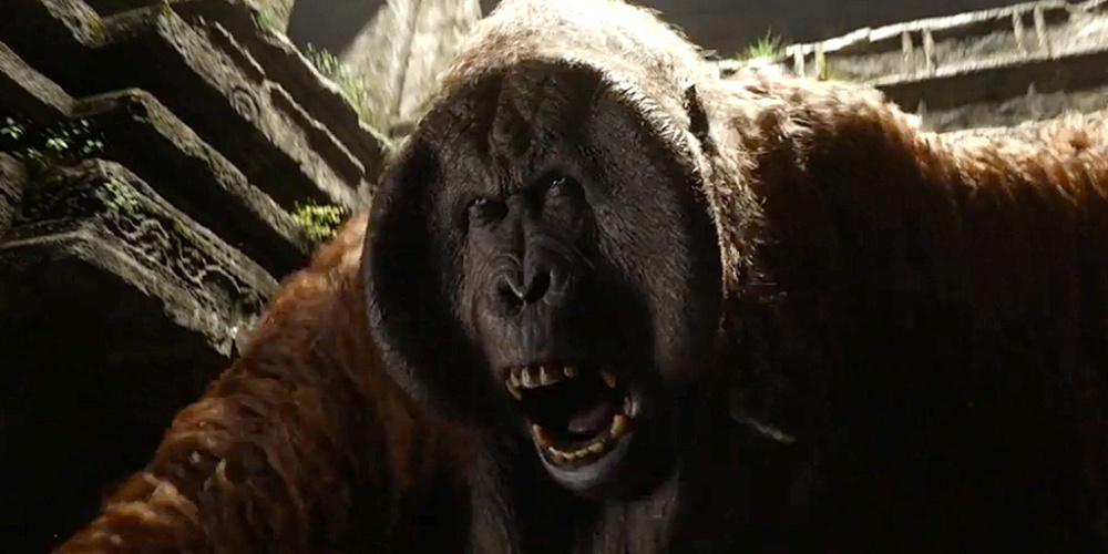King Louie in The Jungle Book 2016 movie by Disney Pictures.