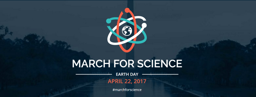 March for Science logo, Earth Day 2017